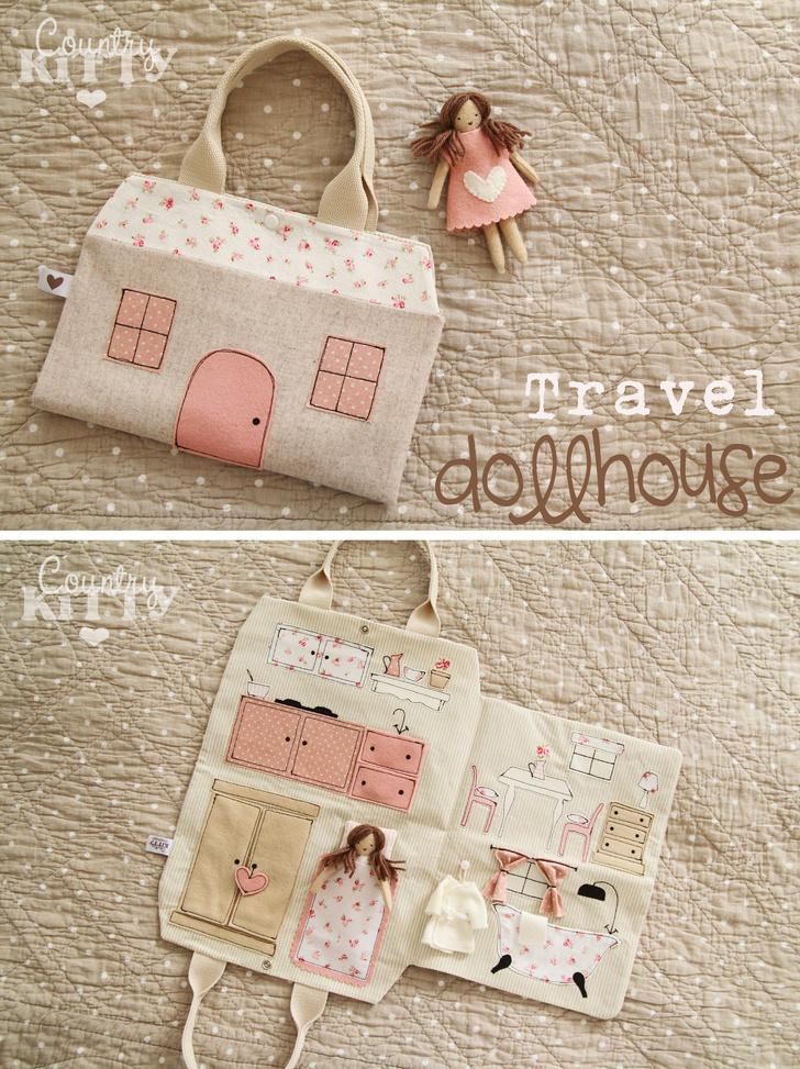 Дорожный кукольный домик. Travel AdverMAN