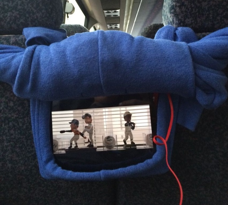 Кофта с капюшоном для планшета. Travel AdverMAN
