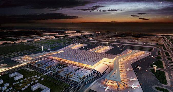 Istanbul Grand Airport. Travel AdverMAN