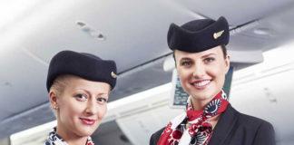 LOT stewardess. Travel AdverMAN
