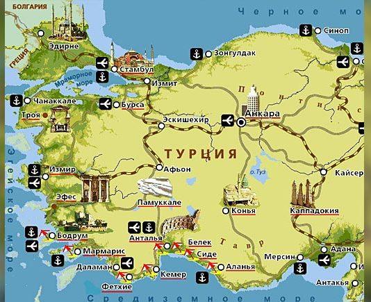 Курорты Турции. Travel AdverMAN