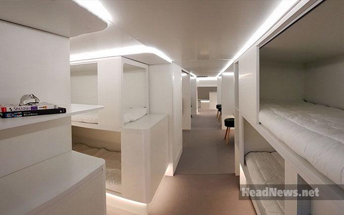Спальніе места в самолете. Travel AdverMAN