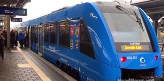Водородный поезд. Travel AdverMAN