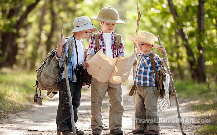 Дети, путешествия, туризм. Travel AdverMAN