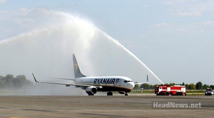 Первый Ryanair в Борисполе. Travel AdverMAN